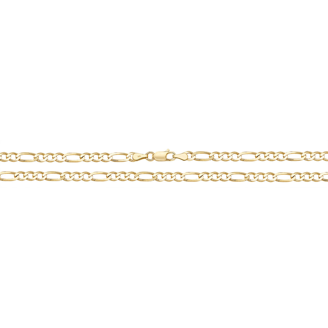 9ct Yellow Gold Gald3+1 11756 080 28