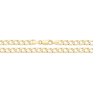 9ct Yellow Gold Gogd 11756 140 16""