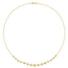 9ct Yellow Gold Ladies' 16 Inch Necklet