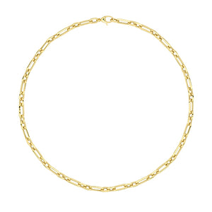 "9ct Yellow Gold Ladies 18"" Fancy Necklet"