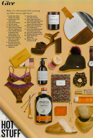 Soie featured in Cosmopolitan Magazine - IMAGE - Christmas Gift Ideas - Elle Macpherson Body