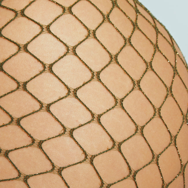 Sparkle Fishnet Shorts