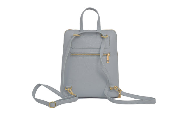 Baby Blue 3 in 1 - backpack / rucksack, cross body bag, and hand bag in one.