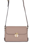 Smoke Rose Real Leather Gold Studded Cross Body Bag/Shoulder bag/Adjustable shoulder strap