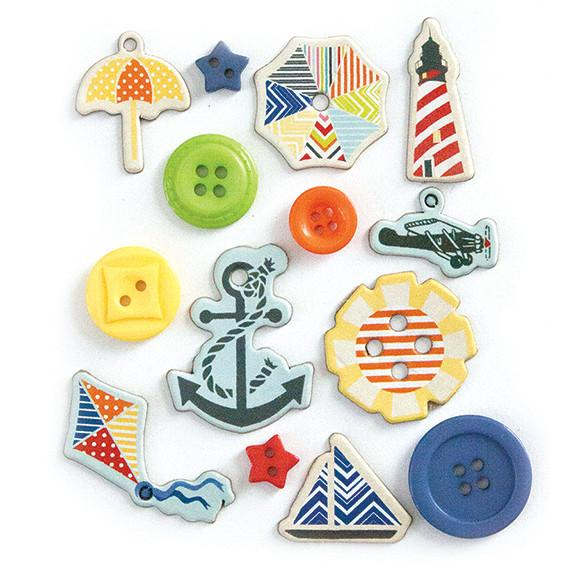 Buttons Nautical