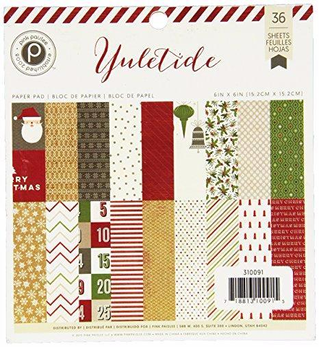 Mini Paper Pad Yuletide