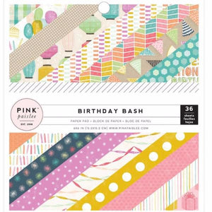 Mini Paper Pad  Birthday Bash