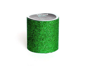 "Glitter Tape  2""  Dark Green  Christmas Marquee Love"