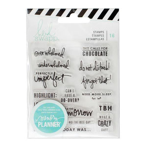 Clear Stamps Day Memory Planner