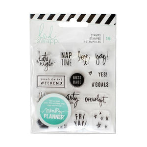 Clear Stamps Weekend Memory Planner
