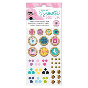Embellishment Pack  Glitter Girl