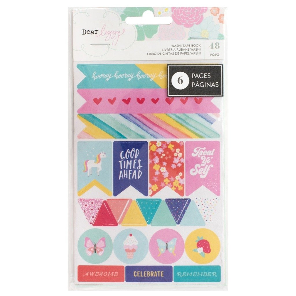 Libreta de Washi Tape Stay Colorful