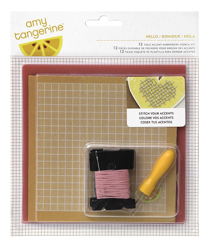 Kit de Costura Hello de Stitched