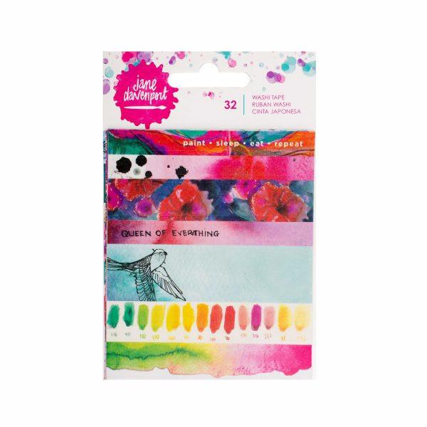 Washi Book Paint Phrases Jane Davenport