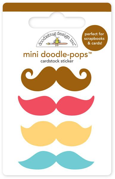 Doodle- Pops Mo´staches Day to Day