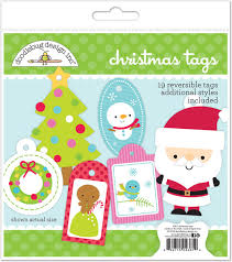 Etiquetas Reversibles Christmas Tags