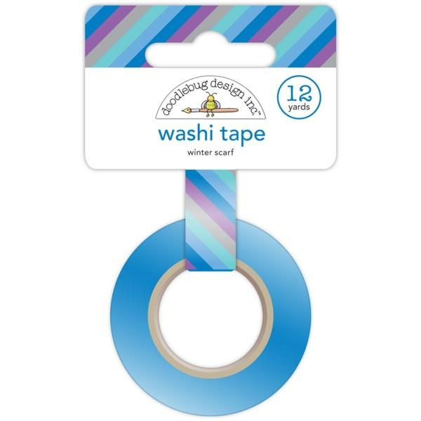 Washi Tape Winter Scarf Frosty Friends.
