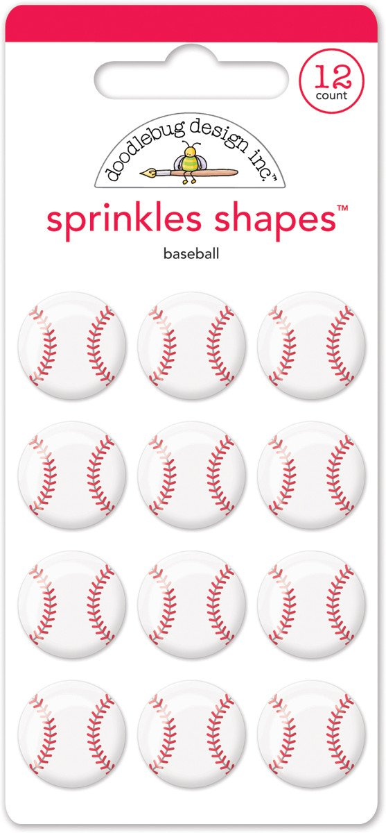 Baseball Sprinkles Shapes Home Run