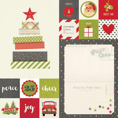 Papel 2x 2 & 6x8 elememts Claus and Co