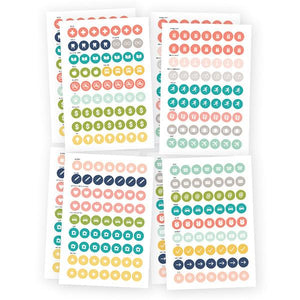 Calendar Stickers Posh