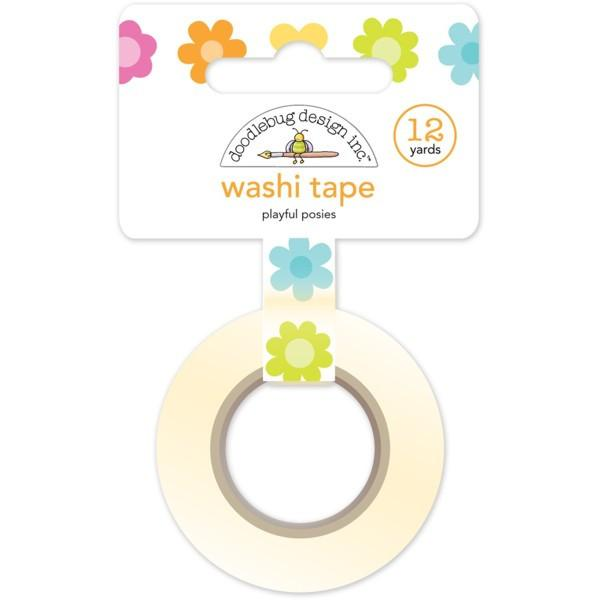 Washi Tape Playful Posies Spring Garden