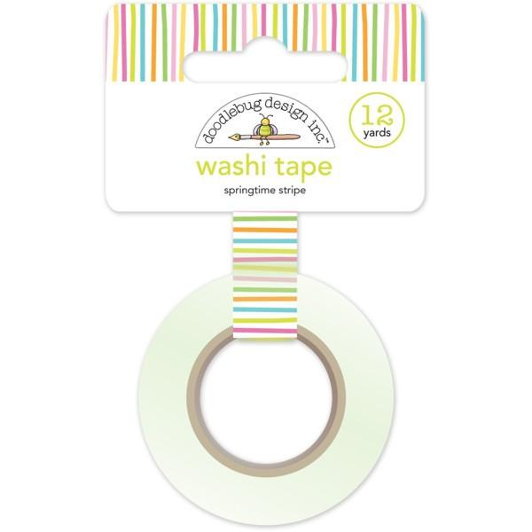 Washi Tape Springtime Stripe  Bunnyville