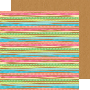 Papel Surf Stripe Fun in the Sun