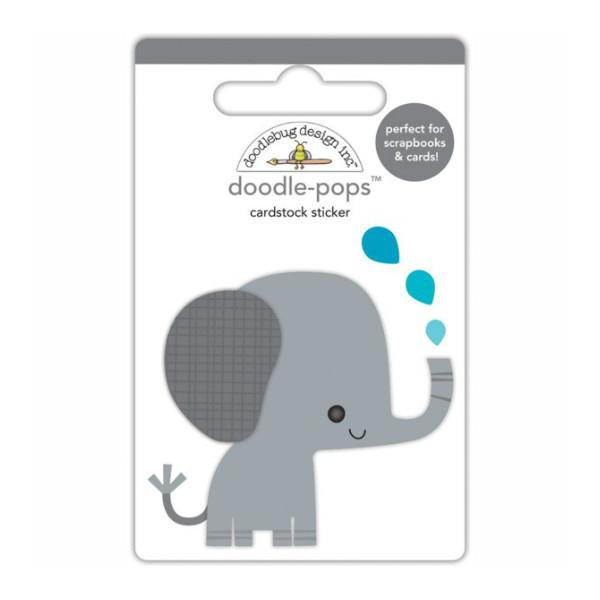 Doodle-Pops   Eddie Elephant At the Zoo