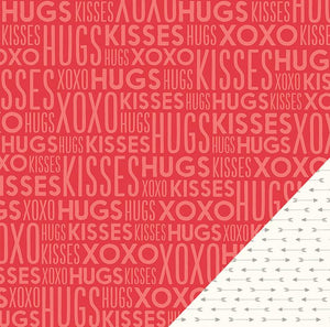 Papel Hugs and Kisses We Go Together