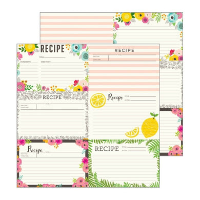 Papel Recipe Cards Patio Party