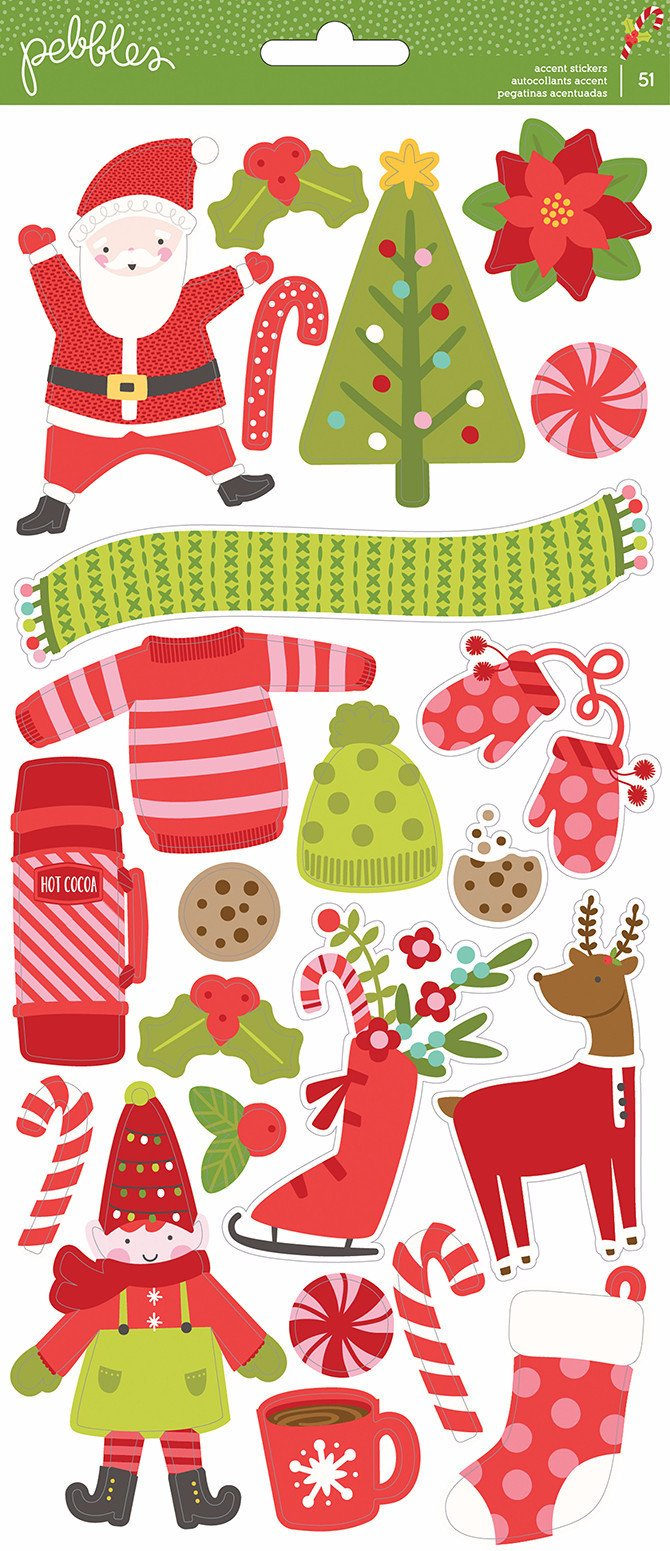 Stickers  Holly Jolly