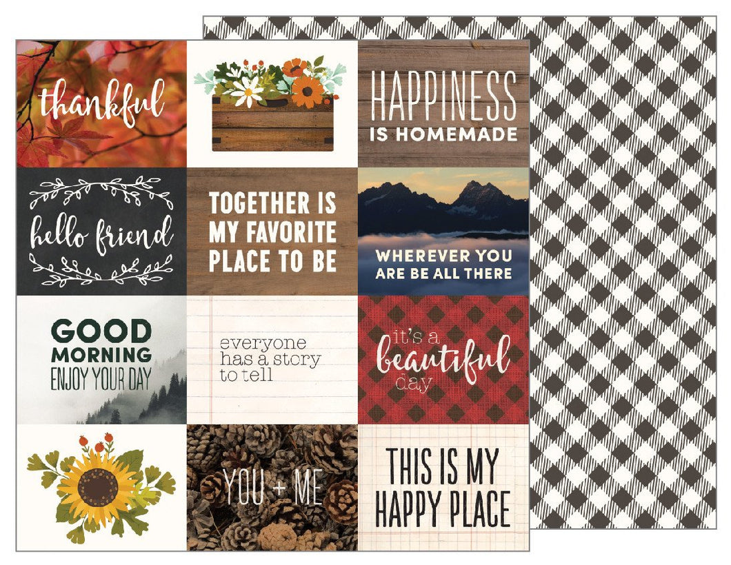 Papel Cozy Quotes Warm & Cozy
