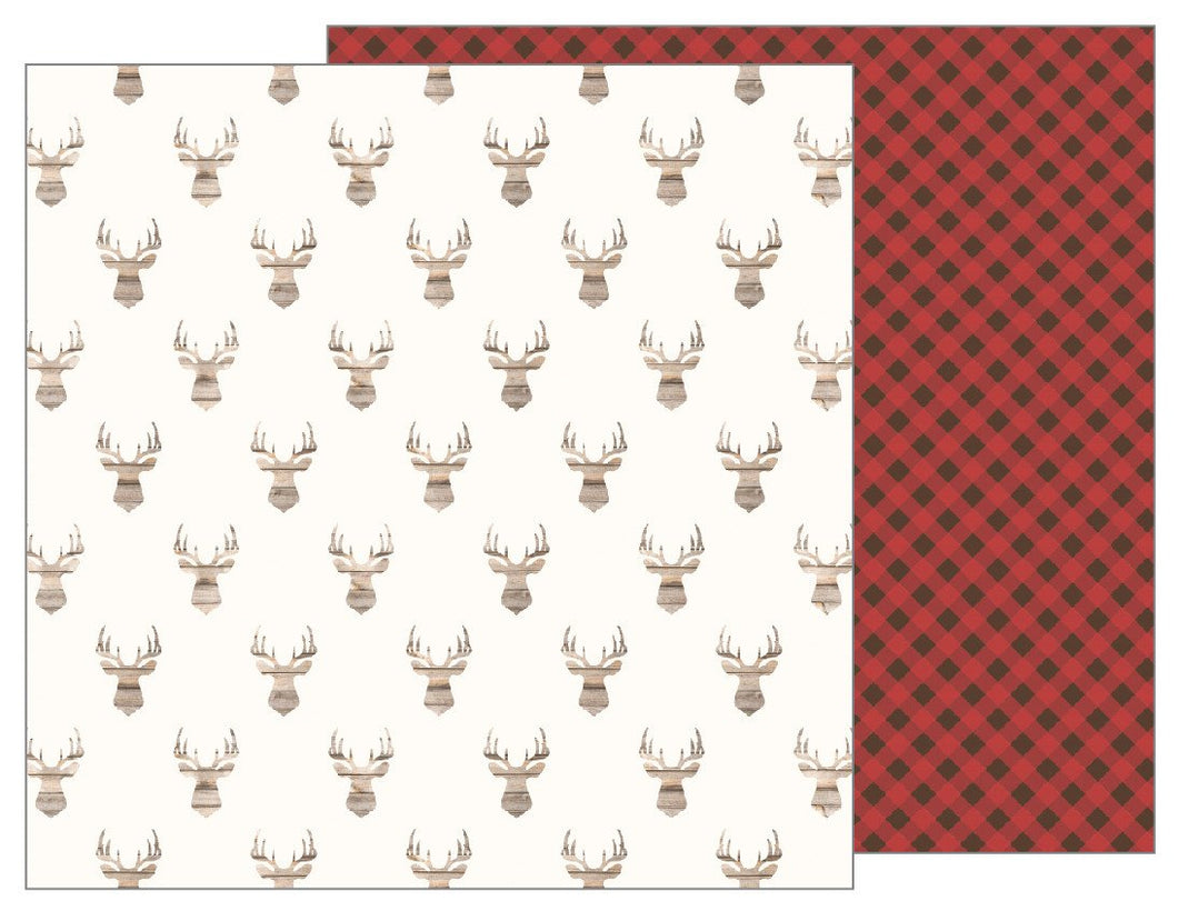 Papel  Antlers Warm & Cozy