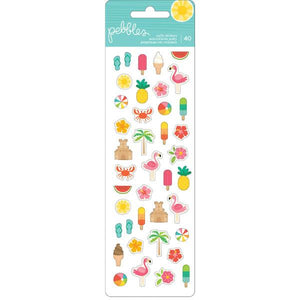 Mini Puffy Stickers Sunshiny Days