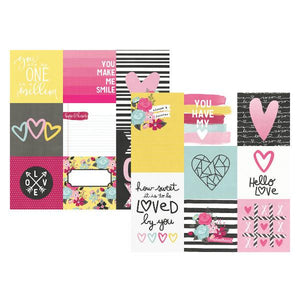 Papel Vertical Elements  Love & Adore