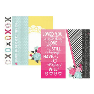 Papel Page Elements  Love & Adore
