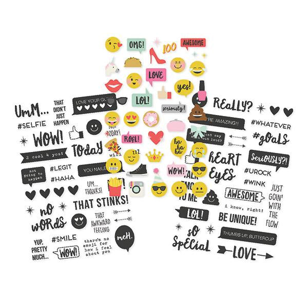Clear Stickers  Emoji Love