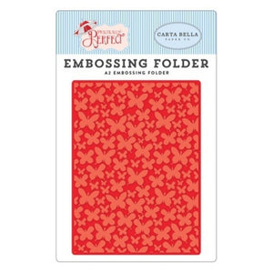 Embossing Folder -Mini Butterflies Practically Perfect