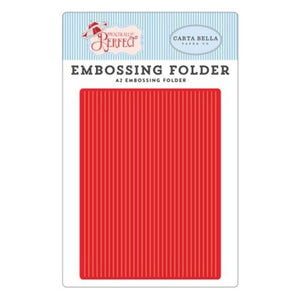 Embossing Folder -Perfect Stripe Practically Perfect