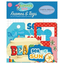 Ephemera Frames & Tags Summer Splash