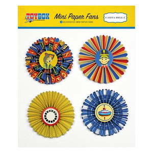 Mini Paper Fans  Toy Box