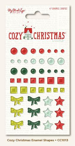 Enamel Shapes Cozy Christmas