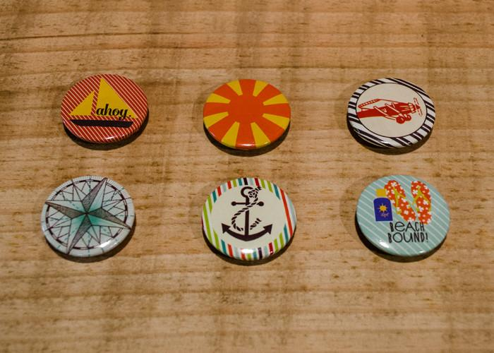 Flair Pins Nautical