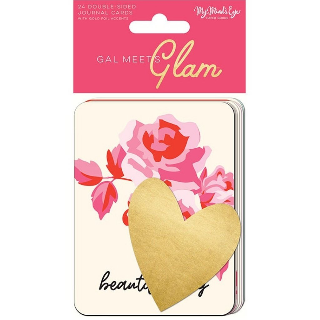 Journal Cards Gal Meets Glam