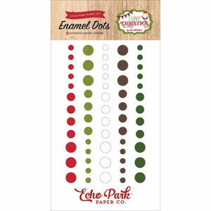 Enamel Dots I Love Christmas