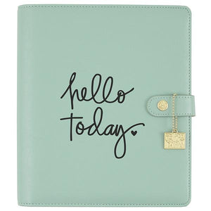 Hello Today Black Planner Decal (Vinilo para planner)