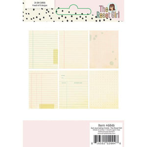 Papel 3x4 Journaling Cards The Reset Girl
