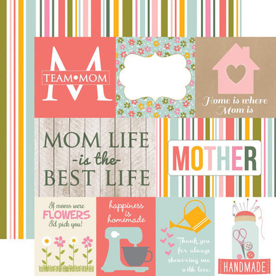 Papel Journaking Cards Paper Beautiful Mom
