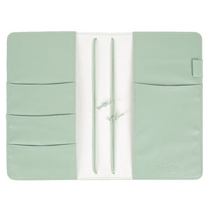 Funda Mint Floral Travelers Notebook