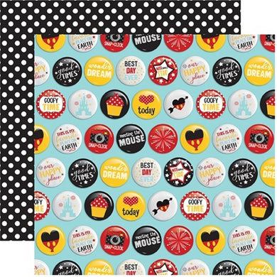 Papel Best Day Buttons Wish Upon a Star